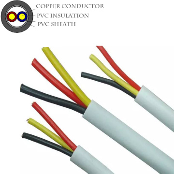 Round PVC Insulated Sheathed FR Electrical Cable Wire