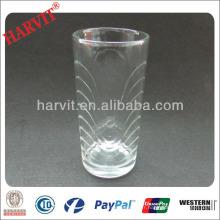 Hot Sale Tasses de boissons en verre de thé marocain Mugs / Verrerie en cristal de Bohemia / Verre en verre gaufré