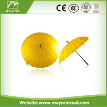High Quality People Walking Stick Straight Umbrella