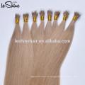"""8-32"""" Pre Скрепленное U кончик ногтя 8А реальные наращивание волос 1Г /с 10г/пакет темного цвета прямого типа волос"""