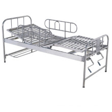 Hospital Manual Stainless Steel Adjustment Bed