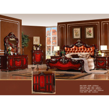 Luxury Bedroom Furniture with Green Furniture Paint (W832)