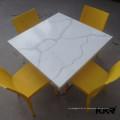Tampo de mesa em granito / mesa de jantar em mármore