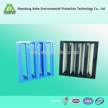 V-bank ABS frame 99.99% hepa air filter