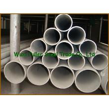 Tubulação de aço inoxidável do grande diâmetro da força de alta elasticidade
