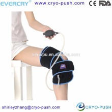 sac de glace au genou compresse enveloppe de genou de glace médicale