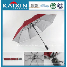 CIQ Wooden Handle Automatic Fold Umbrella