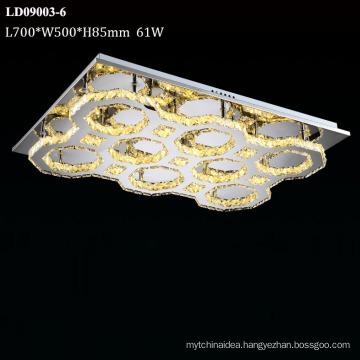 crystal flush mount chandelier ceiling light led lighting