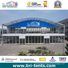 Luxury Two Story Double Decker Tent for Trade Show Event