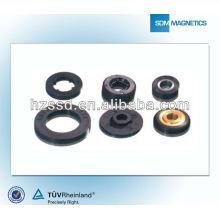 Ferrite magnet rotor