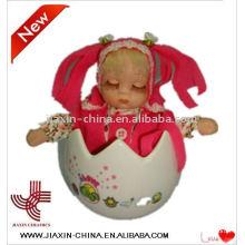 brinquedos de páscoa com bonecas de porcelana de música