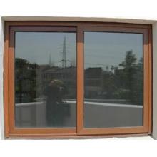 Fenêtre coulissante en aluminium thermique de double verre