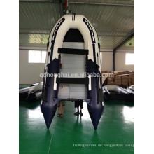 Boot billigen aufblasbares Schlauchboot mit Außenbordmotor