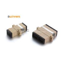 Adaptateur de coupleur à bride de fibre optique Simplex Duplex SC