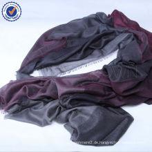 Kleiner Bestellungsgroßverkauf in der inneren Mongolei-Samt-großen Größe 160 * 210cm SWC405 Kaschmir-Silk Schal