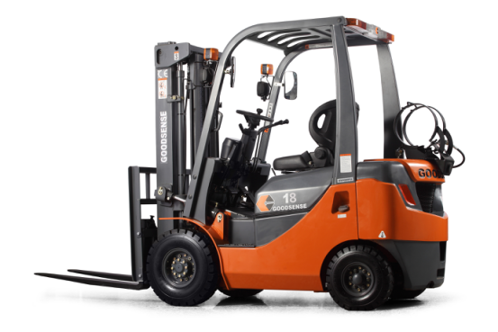 1.0-1.8 Ton LPG&Gasoline Forklift is one kind of Internal Combustion Forklift,the power is LPG or both.LPG & Gasoline combustion fully, improve the life of engine three times.It`s more clean than diesel forklift,and can work longer than electric forklift.  General					 Model		FY10	FY15	FY18 Power Type		LPG&Gasoline	LPG&Gasoline	LPG&Gasoline Load Capacity	kg	1000	1500	1800 Load centre	mm	500	500	500 Tyre					 Tyre			Pneumatic Tyre	Pneumatic Tyre	Pneumatic Tyre Front Tyre		6.50-10-12PR	6.50-10-12PR	6.50-10-12PR Rear Tyre		5.00-8-10PR	5.00-8-10PR	5.00-8-10PR Overall Dimension					 Lift Height	mm	3000	3000	3000 Fork Size	L×W×T	mm	920*120*35	920*120*35	920*120*35 Mast Tilt Angle	F/R	.	6/12	6/12	6/12 Mast Lowered Height	mm	1995	1995	1995 Mast Extended Height(with backrest)	mm	3940	3940	3940 Length to face of fork(Without fork)	mm	2205	2285	2285 Overall Width	mm	1086	1086	1086 Overhead Guard Height	mm	2040	2040	2040      Application Area: 1.Warehouse 2.Port 3.Factory 4.Distribution Center 5.Logistics  If you have any other questions,please contact us directly.Our forklift are all with high quality,and you can choose any other engine to equip.It can be produced according to your idea.And we invite you to visit our factory.
