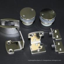 Accessoires de matériel de salle de douche coulissante d'acier inoxydable 304
