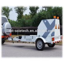 Deflectómetro automático de caída de peso (FWD) Tipo de remolque y punto único / multi punto