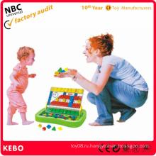 Детские пластиковые строительные игрушки