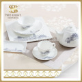 handmade porcelain 72 pcs tableware set , brilliant dinnerware set for gift