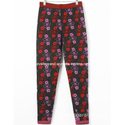 Woman's Knitted Jacquard Trousers (SZWA-0201)