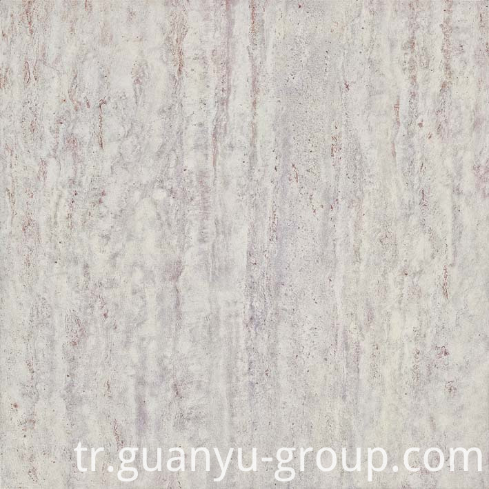 White Travertine Rustic Porcelain Tile
