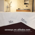 Authentic Hotel Personalized Mr and Mrs Cotton Hand Towels BT-109