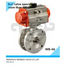 Válvula de bola neumática de Italia SUS316L Dn15 Pn16