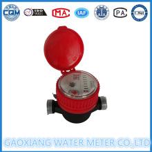 Compteur d'eau chaude en nylon jet simple