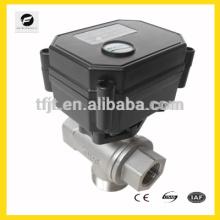 CWX15n válvula eléctrica DC12V 3 vías para equipos de riego, equipos de agua potable