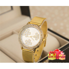 Latest Watch Diamond Women Hot Sale High Quality Alloy Golden Wristwatch Cestbella Special Gifts Watch