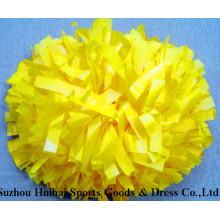 Cheerleading POM POM: plástico amarillo