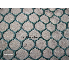 Red de geomalla de plástico HDPE con geotextil de dos lados