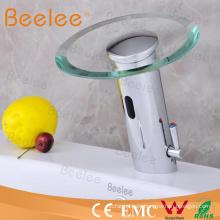 Grifo mezclador de lavabo de sensor, grifo mezclador de agua con sensor de infrarrojos (QH0109A)