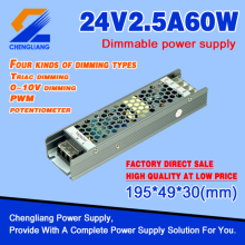 LED Triac Dimmable Driver 24V 60W