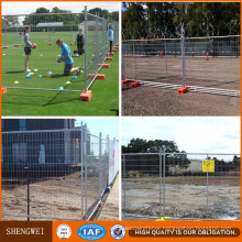 Easy Assembly Anti-Rust Hot-Dipped Galvanized Temporary Fence for Sale
