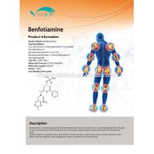 Nootropics matières premières Benfotiamine / acide folique / vitamine B6 / vitamine B1 dans le stock américain avec livraison rapide