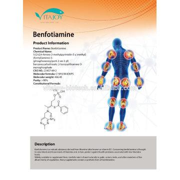 Nootropics raw materials Benfotiamine/Folic Acid/Vitamin B6/Vitamin B1 in US stock with Fast Delivery