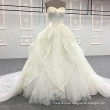 Alibala Custom Made Gown Wedding Dress Bridal Gown Modest Prom Sweetheart Wedding Dresses for Women Ladies Girls