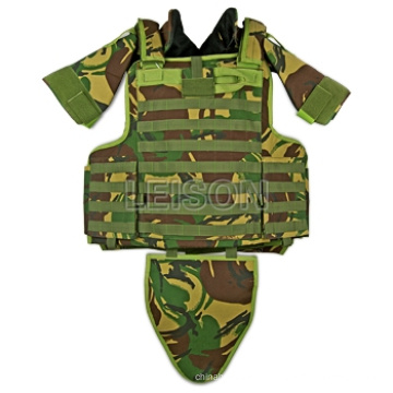 Ballistic Vest with Quick Release System for Military