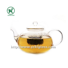 Clear Single Wall Glass Teapot by SGS (1500ML)