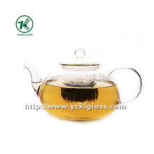 Clear Single Wall Glass Teapot por SGS (1500ml)