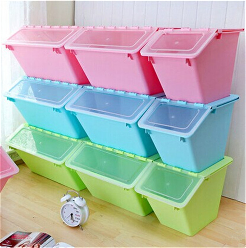 triangle shaped storage bin