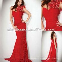 Одно Плечо Милая С Multi-Сердца Деталь Плечо, Облегающие Вечернее Платье