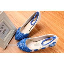 Chaussures de mariée à la main à la main à la main à la main à la main au printemps et à l'été à la mode chaussures de demoiselle d'honneur avec chaussures habillées WS035