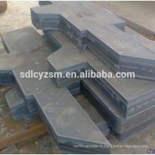 Chine coupe en métal en acier doux