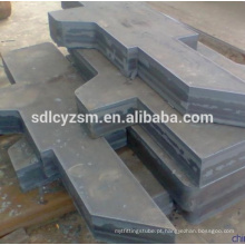 China mild steel metal cutting