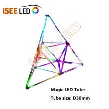 Luces de tubo mágicas led programables activadas por música