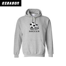 Высокое качество спортивной одежды Подгонянный полиэфир Футбол теплый вверх Толстовка