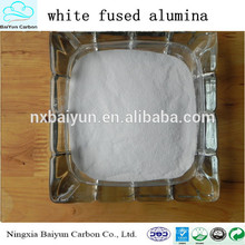 Manufacturer high quality aluminium oxide powder/white fused alumina
